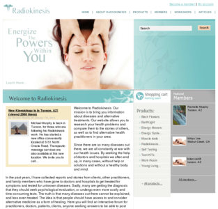 Radiokinesis Brings Kinesiology to a new level