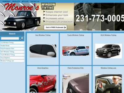 Window Tinting in Muskegon - Monroe Truck and Auto Accessories West Michigan 231-773-0005